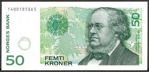 50 Krone Note Norway