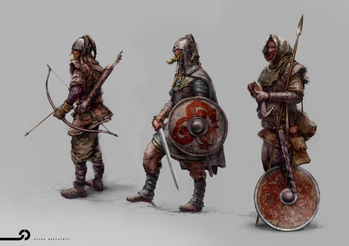 Norse Viking Warriors