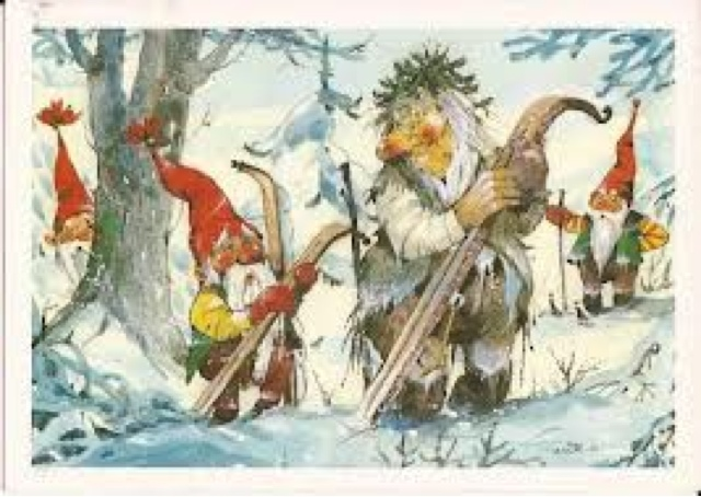 Norwegian Christmas Card 1
