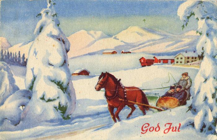 Norwegian Christmas Card 2