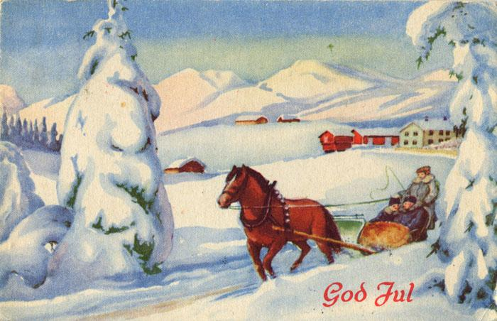 Norwegian Christmas Card 2