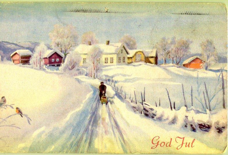 Old Norwegian Christmas Cards €� Thornews