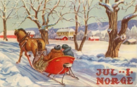 Norwegian Christmas Card 4