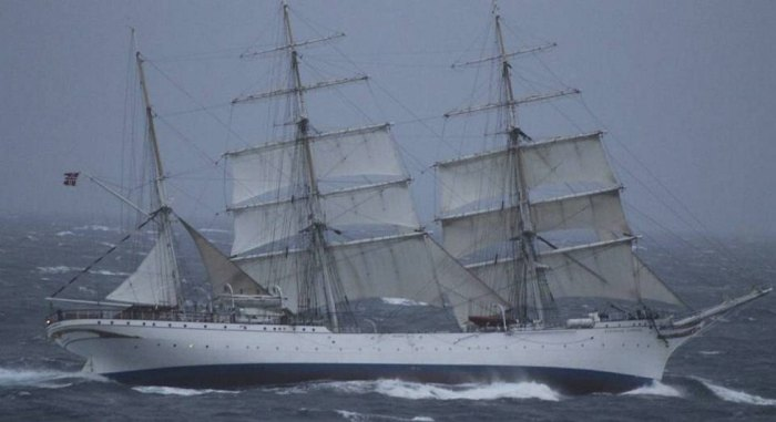 Statsraad Lehmkuhl Sailing Ship Norway