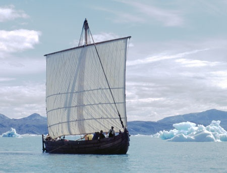 Viking Ship Greenland