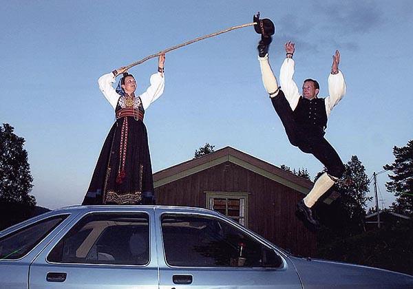 Halling Folk Dance
