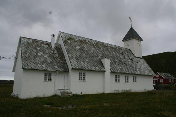 Ingøy Church Exterior