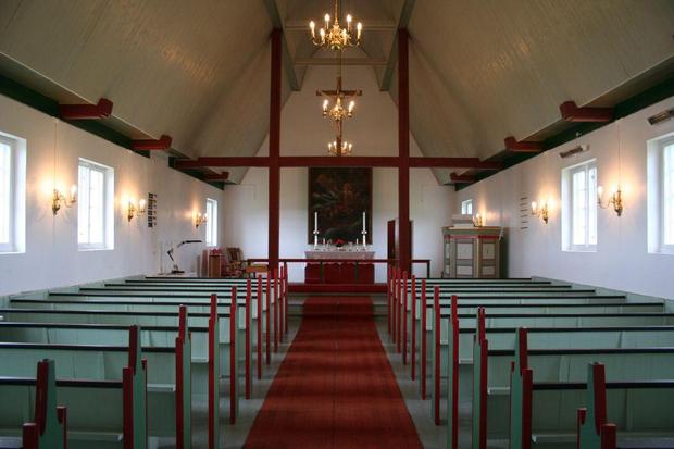 Ingøy Church Interior