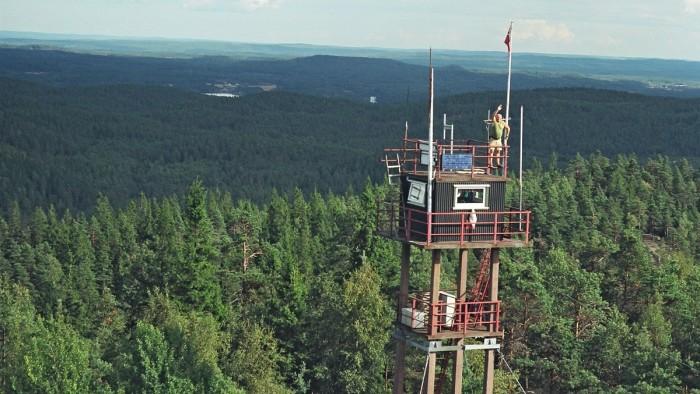 Unusual Summer Jobs: Fire Lookout Operator