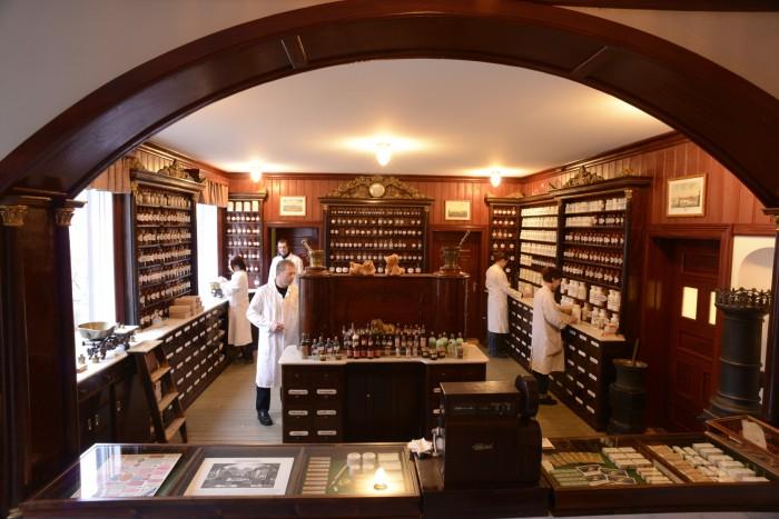 Sverresborg Museum Løveapotekte Lion Pharmacy