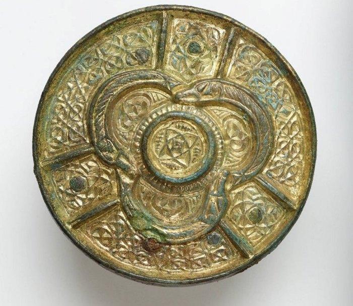 Unique 9th Century brooch