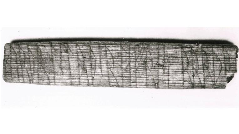 Runic Text Bergen Norway