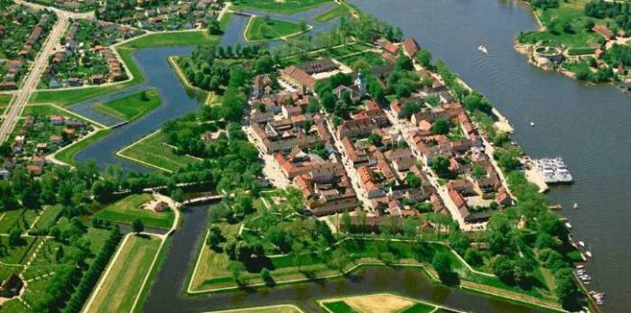 The Old Town of Fredrikstad