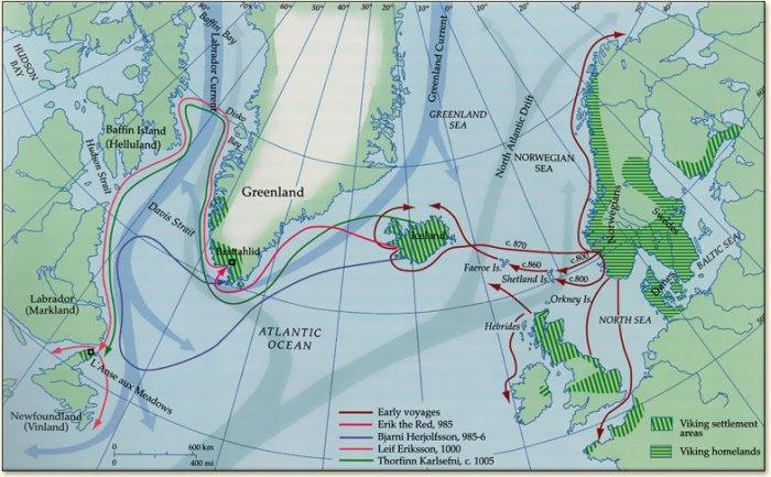 Viking Voyages America
