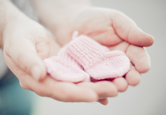 Amanda Project Knitting for Premature Babies - pink
