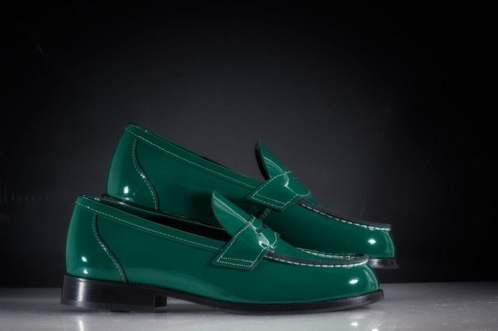 Aurland Shoe Green