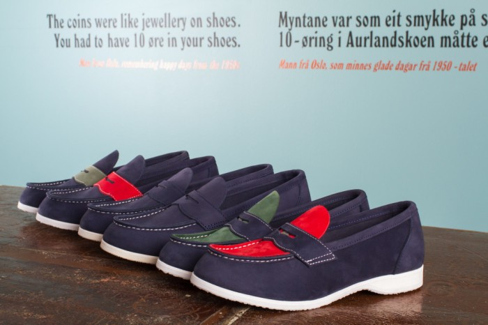Aurland Shoe - Penny Loafer Two colors