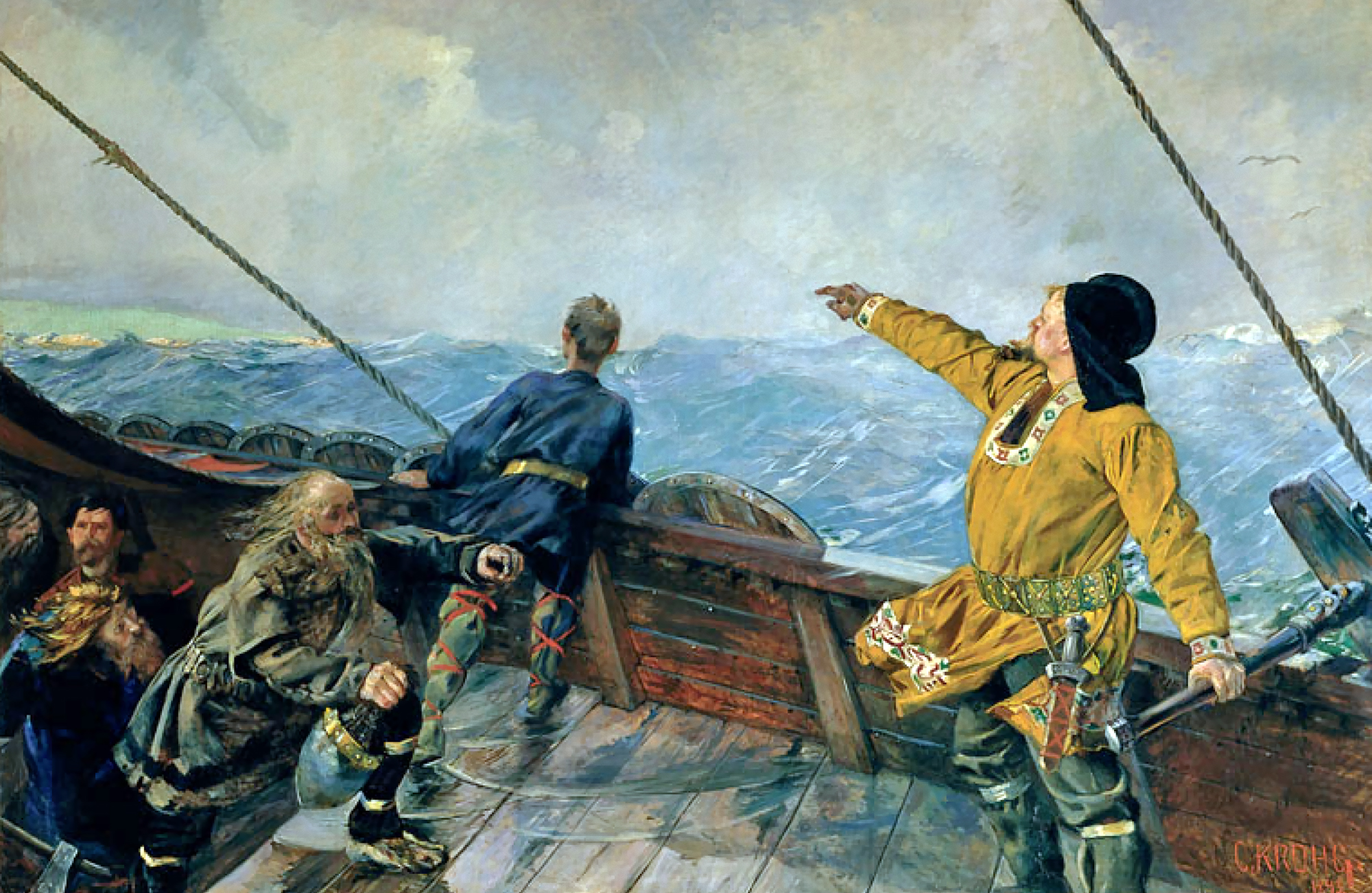 What do americans know about vikings and scandinavia for Americas best paint