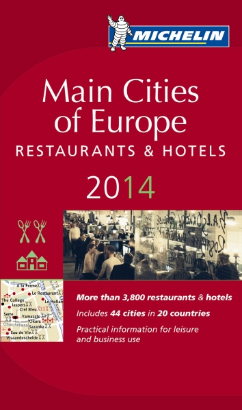 Michelin Stars Main Cities of Europe 2014