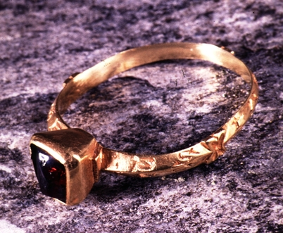 Ring from the Middle Ages found in Norway