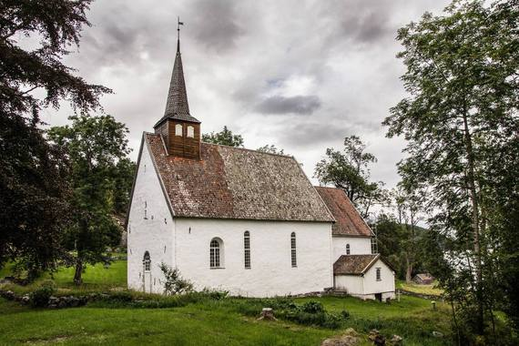 Veoy Old Church Norway