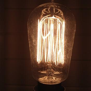 World's longest glowing icandescant lamp Norway 3