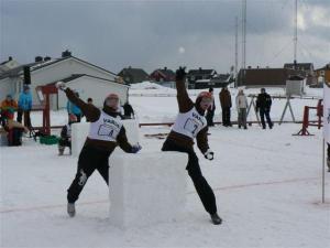 Yukigassen Snowball Battle Winter Festival Norway