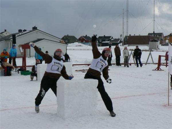 Yukigassen Snowball Battle Winter Festival Norway