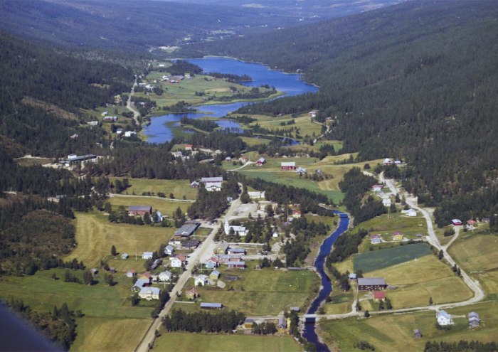 Aerial Photograph Norway 1960s 3
