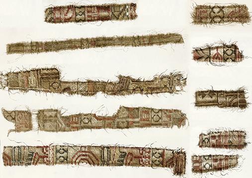 Persian Silk Oseberg Ship Viking Age