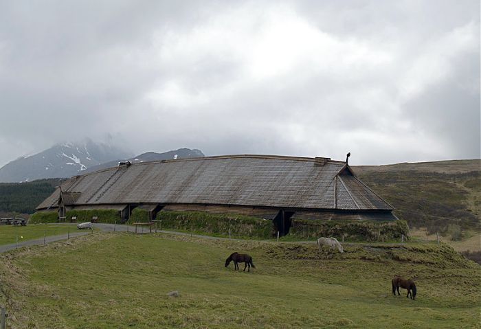 Viking Longhouse Borg Norway
