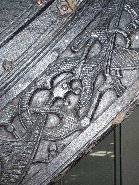Oseberg Viking Art Style