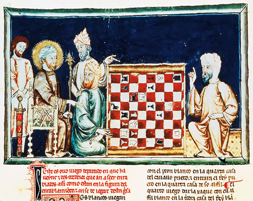 Arabs Playing Chess 1282 AD