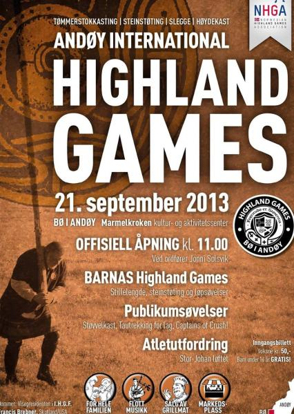 Highland Games Norway 21 September