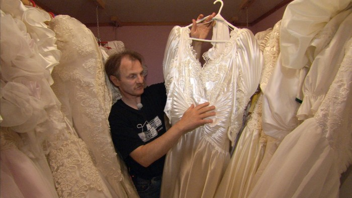 Jan-Roger owns 375 wedding dresses