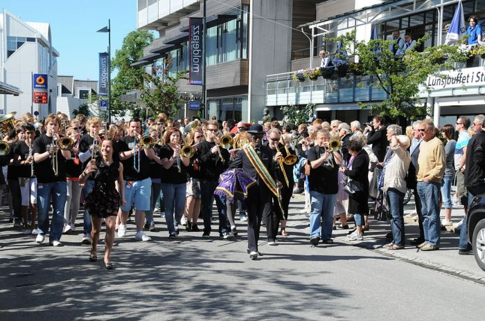 Molde International Jazz Festival Street Parade