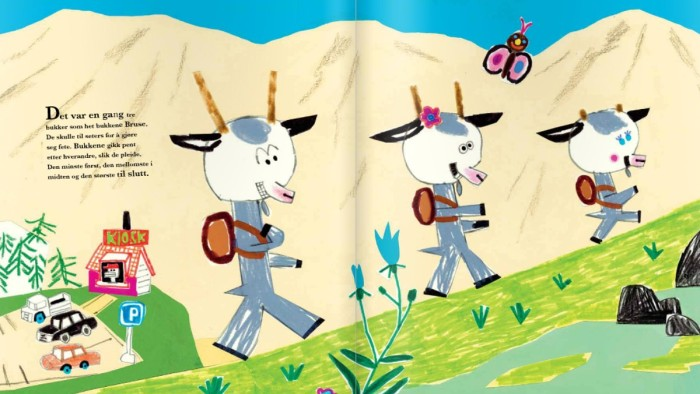 Most Popular Children's Book Billy Goats Gruff