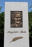 Feminist Norwegian Writer Magnhild.Haalke Statue