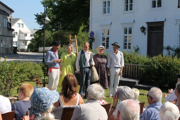 Feminist Norwegian Writer Magnhild.Haalke Unveiling 2