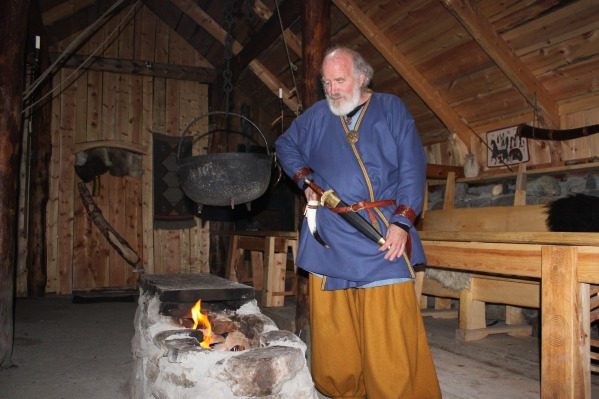 Longhouse Interior Iron Age Farm Norway