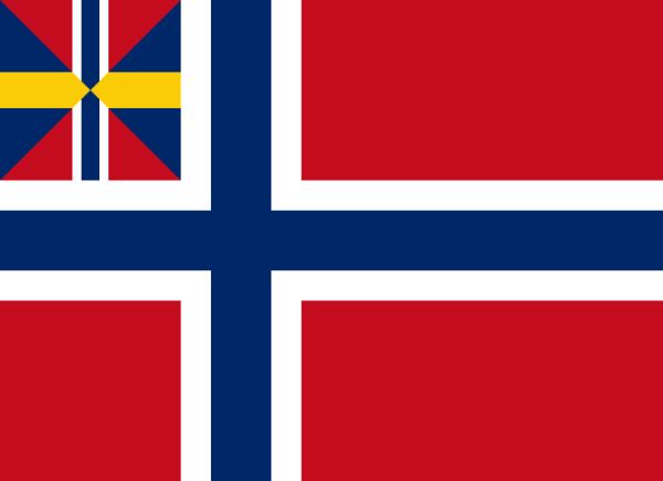 Union FLag Norway-Sweden Herring Salad