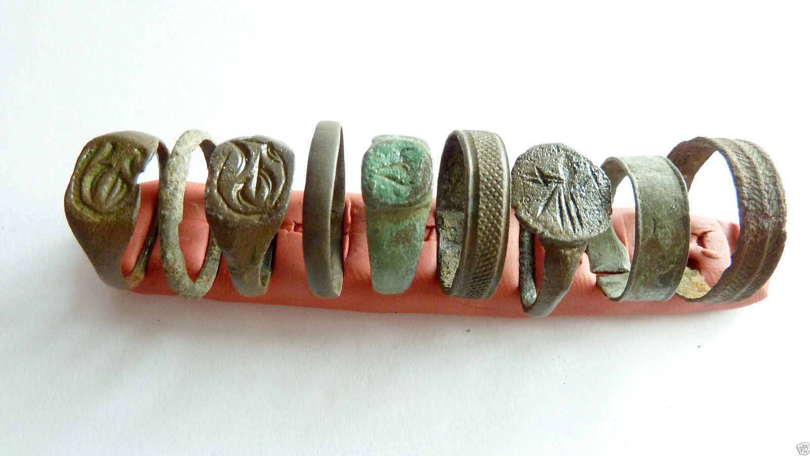 Viking Age Bronze Rings Lithuania EBay