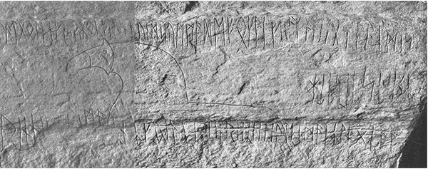 Eggja Runic Flagstone Norway