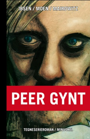 Ibsens Peer Gynt as Comic book cover