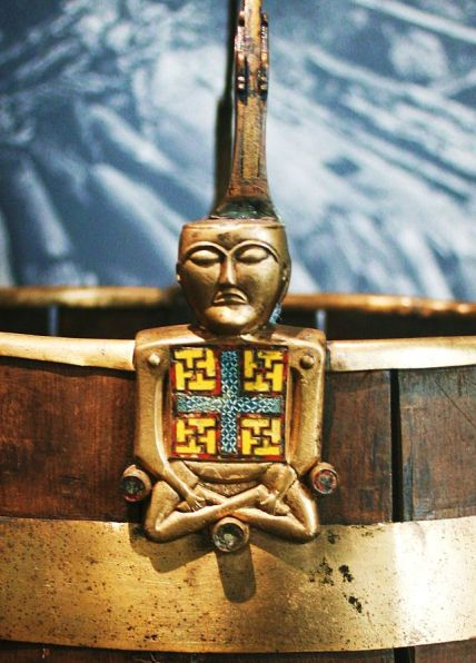 The Oseberg Viking Ship Buddha Bucket