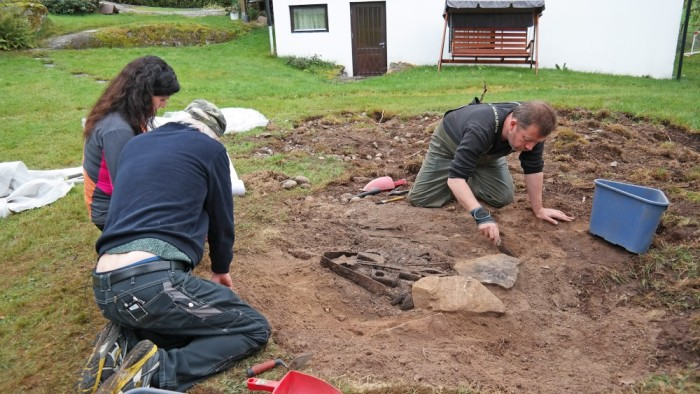 Viking Blacksmith's Grave 800s Norway - 2
