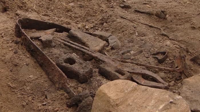 Viking Blacksmith's Grave 800s Norway