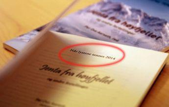 Christian Christmas Booklet Misprint