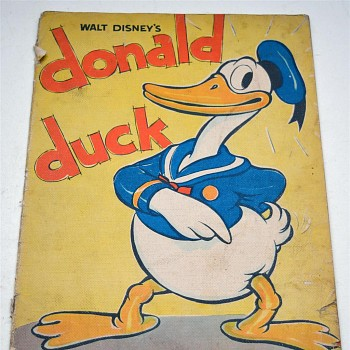 Donald Duck Comic Book First Edition USA 1935