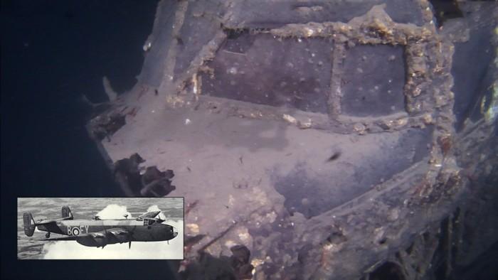 Halifax World War II Bomber Trondhjemsfjord Norway